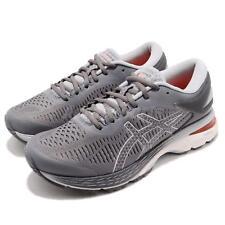 Asics Gel-Kayano 25 Carbon Grey White Women Running Shoes Sneakers 1012A026-020