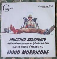 DISCO VINILE MORRICONE FILM TERENCE HILL-IL MIO NOME è NESSUNO,MUCCHIO SELVAGGIO