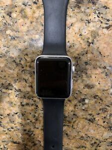 Apple Watch Series 3 42mm GPS + Cellular Silver Aluminum Case w/ChargGUC Verizon