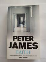 Faith by Peter James (Paperback, 2000)✉️FREE POST