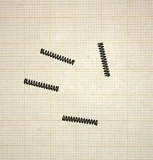 4 x Druckfeder, Länge 13mm, Außen Ø2,2mm, Drahtstärke 0,4mm, Modellbau