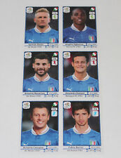 Panini em EC euro 2012 – set italia Italy italia 6 x Update extra stickers