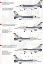 Eduard Calcomanía f-16cj FIGHTING BLOQUE 50 Falcon 4 Versiones - 1 :3 2