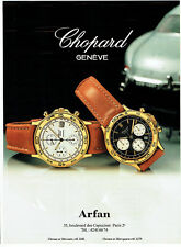 Publicité Advertising 018  1989  Chopard  montres  homme automatic