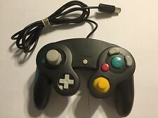 black 3rd PARTY NINTENDO GAMECUBE +Wii CONTROL CONTROLLER JOYPAD JOY PAD GWO