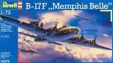 Revell 1/72 B-17F Memphis Belle Plastic Model Kit 04279 RVL04279