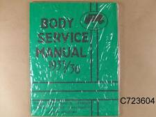 1933 1936 Pontiac Body Service Manual All GM w/ Fisher Bodies 123 Pages, C723604