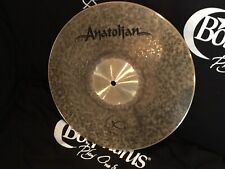 "NEW Anatolian 16"" Brown Sugar Crash Cymbal (Jazz Collection RRP £189)"