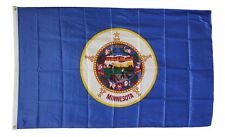 Minnesota State Flag 3 x 5 Foot Flag - New 3x5 Indoor Or Outdoor