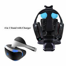4 In1 Stand Holde With Charger Charging Station for Ps4 PlayStation PS VR Headse