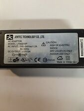 JENTEC JTA0210P 12VDC 3A  Charger Power   Ac adapter  With a 120V cord
