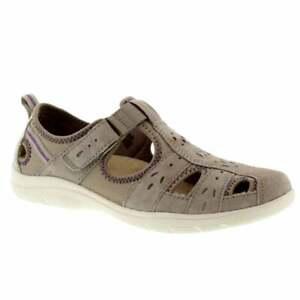 Earth Spirit Cleveland Nubuck New Khaki (N1) 30324 Ladies Shoe