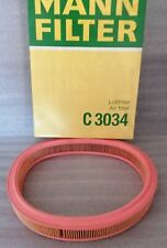 AIR FILTER FORD ESCORT 85-95 1400 TOP QUALITY MANN FILTER OVAL Free delivery uk
