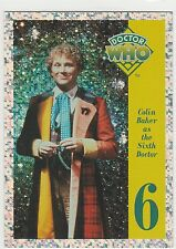 1994 Doctor Who Series One Prisms #P6 Colin Baker * Cornerstone Communications *