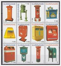 Surinam / Suriname 2004 Brievenbus mailbox briefkasten boîte aux lettres MNH