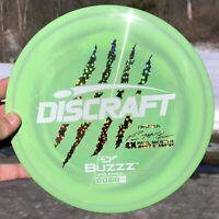 New OOP Swirly Light Green/Purp Discraft Paul McBeth First Run 4x ESP Buzzz 177+