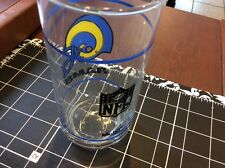 Vintage Rams Drinking glasses Mobil gas station glasses (Set Of 2) La Rams