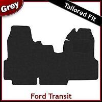 FORD TRANSIT 2006-2013 Double Passenger Seat Tailored Carpet Car Mat GREY