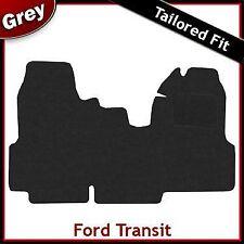 Ford Transit 2006-2013 Doble Asiento del pasajero a la medida Alfombra coche alfombra gris