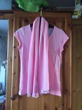 Girls Pink Scarf Top aged 11 Yrs