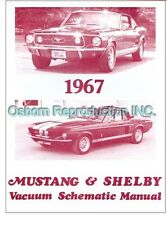 Mustang Vacuum Schematic Book 1967 - Osborn Reproductions