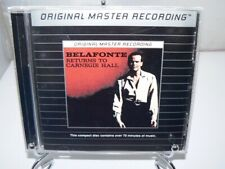 Belafonte Returns to Carnegie Hall MFCD 782 Stereo MFSL OOP