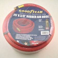 Goodyear 3/8-Inch by 25-Feet 250 PSI Rubber Air Hose with 1/4-Inch MNPT 12185