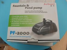 Jebao Submersible Water Pond Pump with Fountain Attachments 2000L/h #PF2000