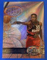 1997-98 Metal Universe #106 Dikembe Mutombo Atlanta Hawks HOF NM-MT
