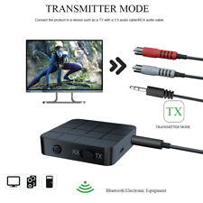 Bluetooth 5.0 Wireless Audio Aux Transmitter and Receiver 2 IN 1 3.5mm Adapter