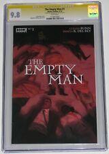 The Empty Man 1 CGC SS 9.8. Signed by Vanesa R. Del Rey. 2020 movie! Cullen Bunn