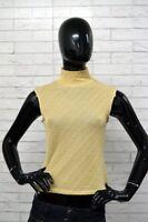 Maglia BYBLOS BLU Donna Taglia Size 44 Vintage Maglietta Shirt Top