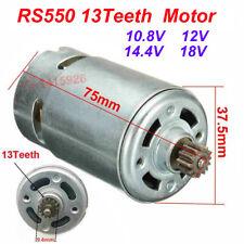 RS550 13Teeth Motor Replace for BOSCH GSR10.8-2-LI GSR10.8V/12V/14.4V/18V New
