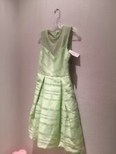 Women Dress Super Elegant Pistachio Mint Green Eva Mendes 4 (90$) NWT