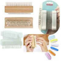 Nail Brush Care Hand Scrubber Cleaning Scrub Bristles Side Toe Manicure Pedicure