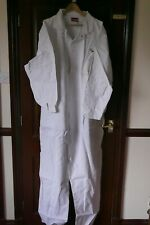 """Harpoon Work Coverall BS50, White, Branded, UK Size 46"""" Chest, BNIB"""