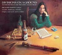 RICHARD HARVEY Divisions On A Ground (2020) CD digipak NEW/SEALED Gryphon