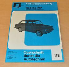 ROOTES IMP Hillman Singer Sunbeam Handbuch Bucheli Coupe Reparaturanleitung B118