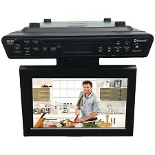 "Sylvania SKCR2706BT 10.2"" Under-counter BT Kitchen TV With Built-in DVD Player"