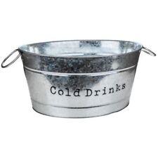 Cubiteras y enfriadores color principal plata de metal
