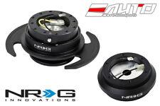 NRG Steering Wheel Hub + Black Gen3 Quick Release w/ BK Ring Civic EF9 Integra
