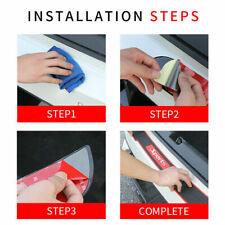 Car Accessories Scuff Plate Sill Sticker Rear Bumper Protection Guard 90*7.2 CM
