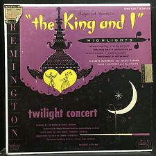 FRANK CHACKSFIELD the king & i LP VG R-199-114 Remington 1952 Alex Steinweiss