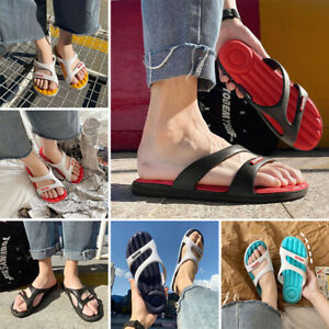 Unisex Adult Fashion Slippers Sandals Holiday Beach Flip Flops Slides Flat Shoes