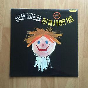 Oscar Peterson Put On A Happy Face Verve Stereo SVLP 9146 UK EX/EX
