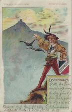 Ansichtskarten vor 1914 aus Thüringen-das Licht-gegen Halt