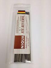 144 Quality Niqua No9 Reverse Tooth Plain End Fretsaw or Scrollsaw Blades