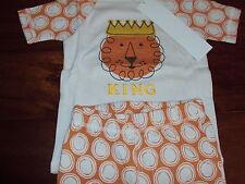 Boys 5 The Company Store Kids Lion 100% Cotton Summer Shorts Pajama Set Pajamas
