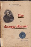 VITA DI GIUSEPPE MAZZINI DI FEDERICO DONAVER 1903