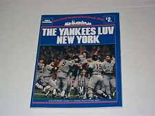 1979 New York Yankees Revised Yearbook - Fresh from Case